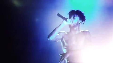 说唱歌手Lil Pump、6IX9INE、XXXTENTACION演出合集