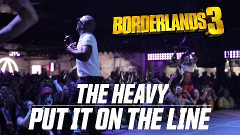 无主之地3开场动画BGM  The Heavy - Put It On The Line