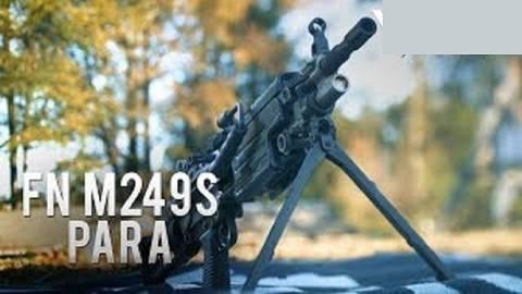 【搬运/已加工字幕】M249S PARA半自动轻机枪