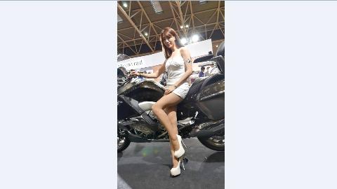 2016 國際重型機車展~ 長腿車模 江雨恩