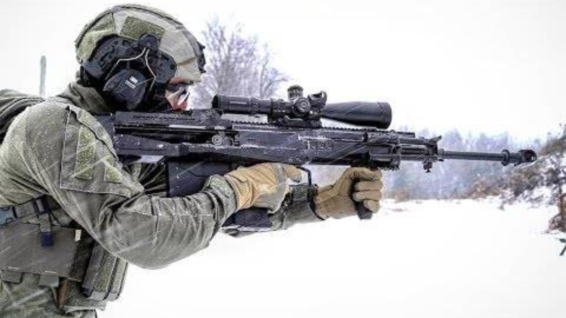 """匈牙利猎豹系列GM6 """"猞猁""""狙击步枪"""