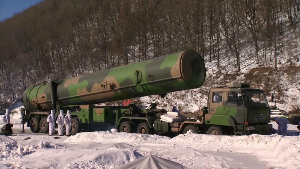 射程超1万公里!央视曝光中国最新洲际导弹发射画面
