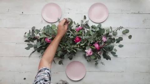 恰到好处的装饰,餐桌鲜花的妙用,这个插花教程满足你