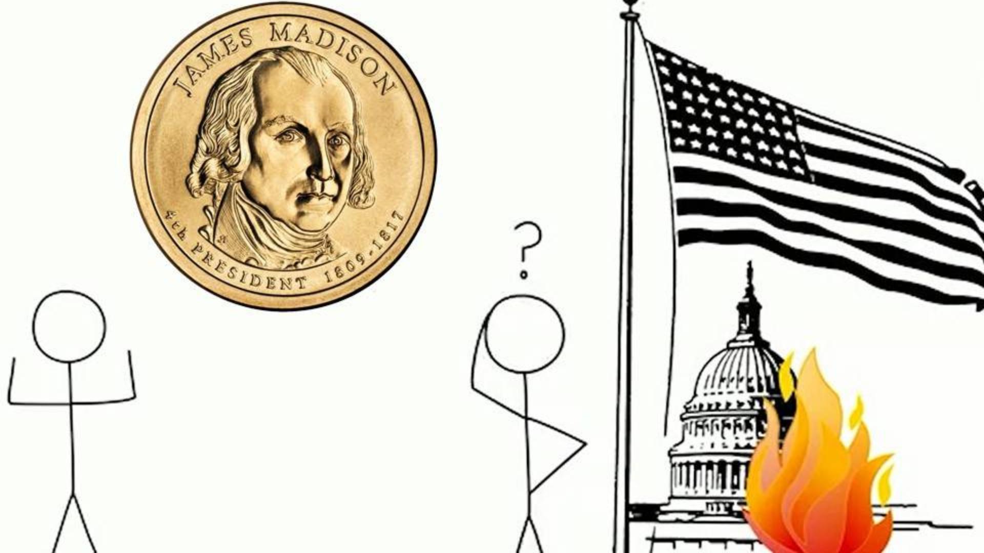 桌游背后的趣味历史:美国白宫缘何在战争中被焚烧?