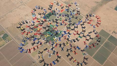 【每日药闻】10架飞机载217人同时跳伞表演 @柚子木字幕组