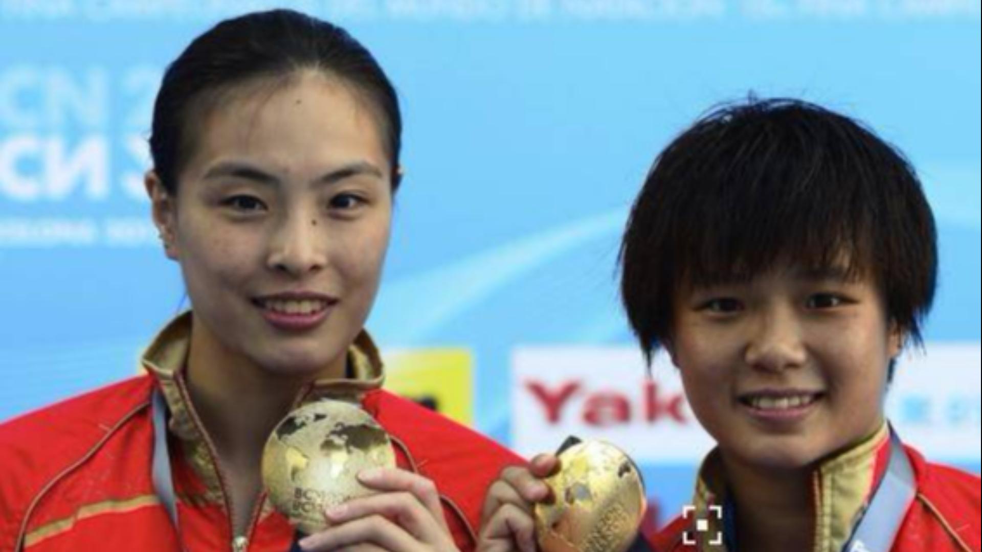 【共和国女神】中国女子跳水队精彩集锦