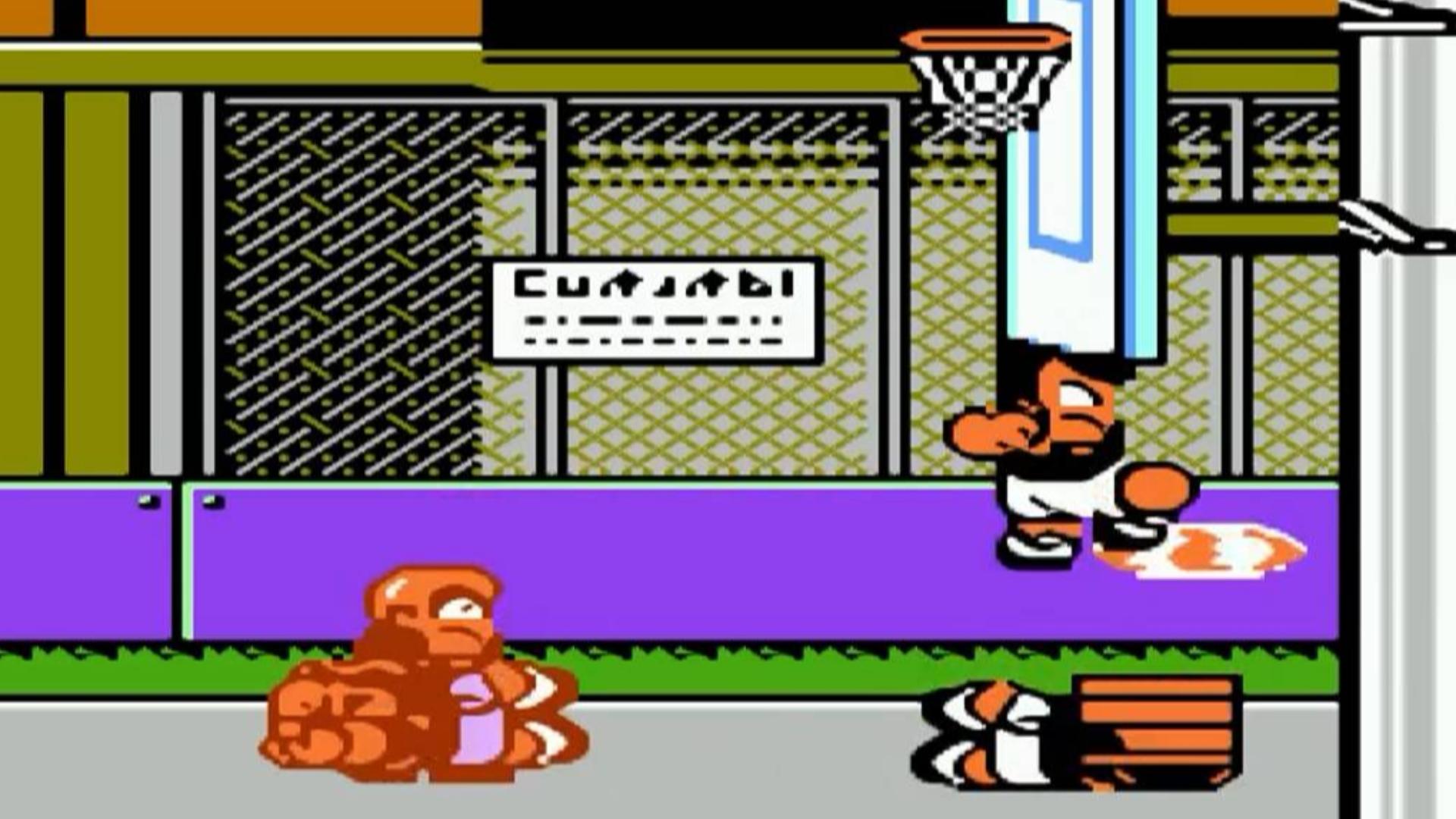 热血篮球,上半场还没打完就出BUG了,这可怎么办,后面果断采用实况录制,可能会有失误