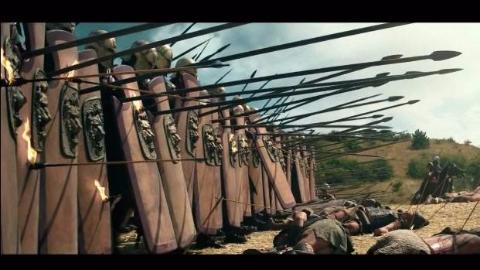 【战争影视合集·第002期】手中坚盾立成墙 无敌加身杀戮狂