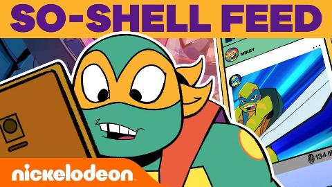 【生肉】忍者神龟2018:崛起Mikey Checks Out His So-Shell Feed