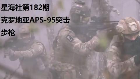 【星海社第182期】不为人知的克罗地亚APS-95突击步枪