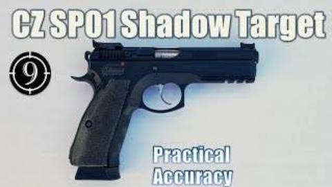 [9-Hole Reviews]近距离精准射击挑战-CZ 75 SP-01手枪