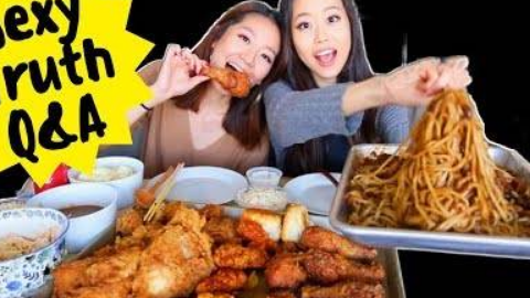 肯德基vs韩式炸鸡 |美女吃相|吃相秀