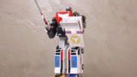 【韩国机甲UP】高速战队 DX 涡轮机器人