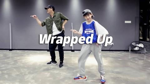 钱老师&甲鱼-《Wrapped Up》,swag满满【口袋舞蹈】