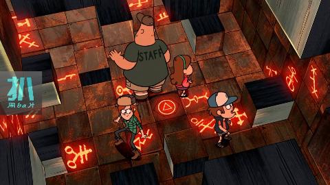 四人被困地下密室,墙壁开始不停收缩,可以救命的符号就在眼前