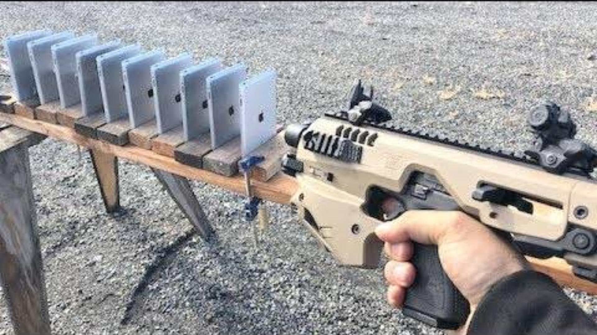 [Edwin Sarkissian]测试需要多少iPad才能挡住子弹