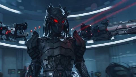 几分钟看科幻怪兽电影《新铁血战士》大号的铁血战士杀到地球来了!