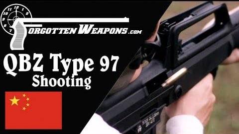 【被遗忘的武器/双语】中国北方工业QBZ97NSR步枪靶场试射