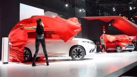 e-Yi概念车和新款祺智EV亮相,广汽三菱全系出击上海车展