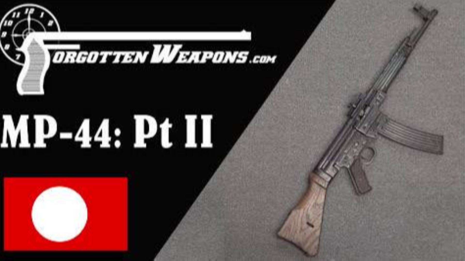 【被遗忘的武器/双语】MP44突击步枪全解P2--历史沿革/打靶