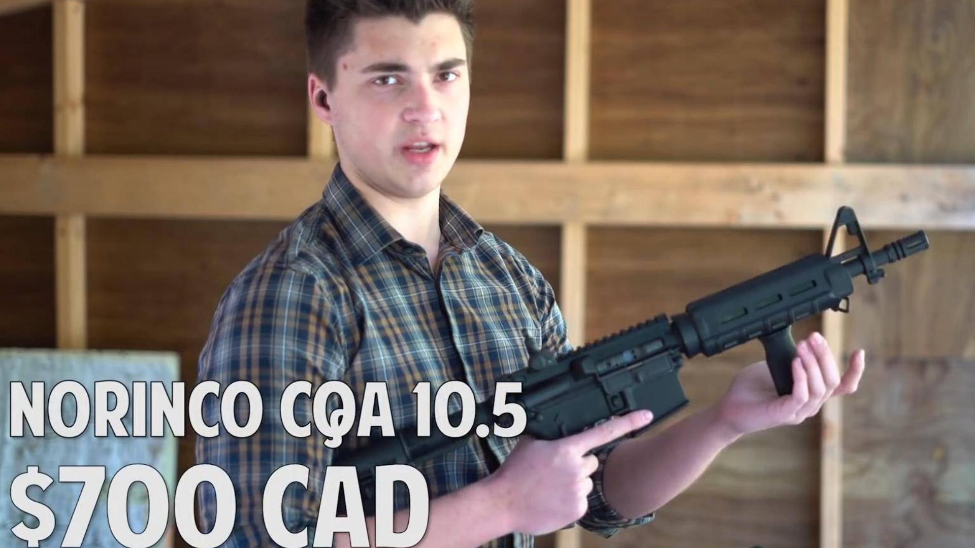 $500 美金的萝莉控 AR15 vs $1500 柯尔特 AR15