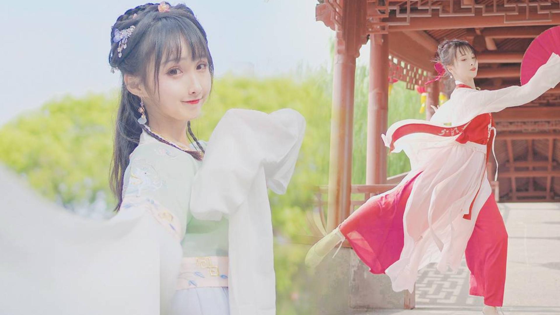 【晓丹】仙气水袖帅气折扇❀『原创编舞寒露』24节气系列
