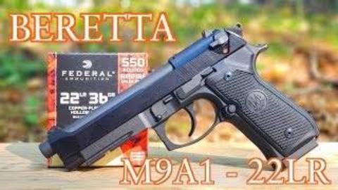 [22plinkster]伯莱塔92FS&M9A1 .22手枪