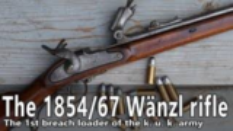 [capandball]奥匈帝国1854/67 Wänz步枪
