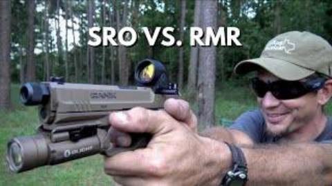 [Dustin Ellermann]微型红点瞄准镜SRO VS RMR