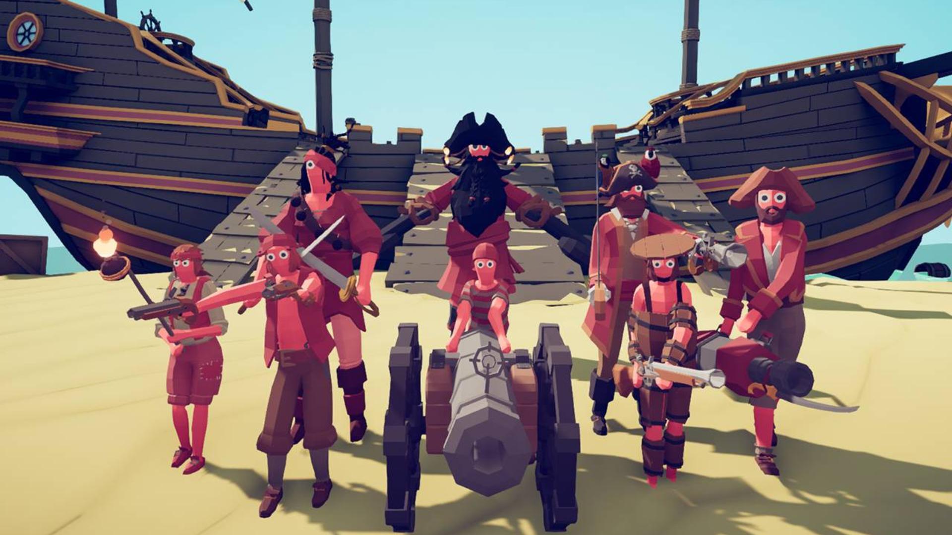 全面战争模拟器 海盗派系兵种介绍 实力强悍的海盗军团