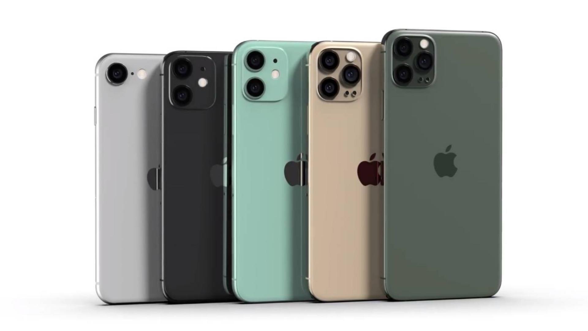 5款新iPhone配置价格全曝光,2800元起!