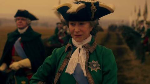 HBO历史大剧《叶卡捷琳娜大帝》预告 奥斯卡影后海伦·米伦将饰演俄罗斯史上最伟大女皇
