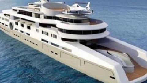 为了泡妞,花20多亿,造世界最大游艇