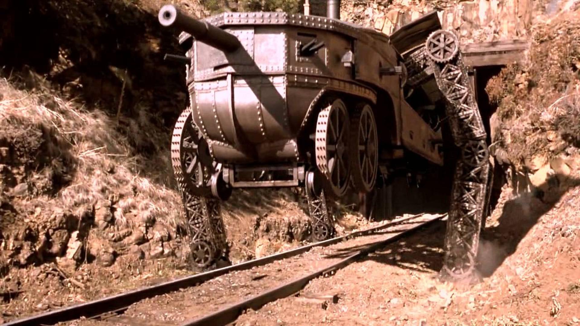 电影:全程黑科技,火车不仅能变形,还能使用各种武器!