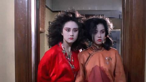 一部香港奇幻老片,利智扮演的女鬼,惊艳荧屏