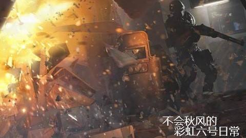【不会秋风】彩虹六号:围攻 4杀打野rook