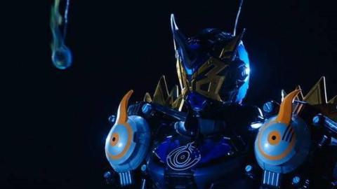 假面骑士GEIZ BIBILL形态 变身+战斗+必杀技!