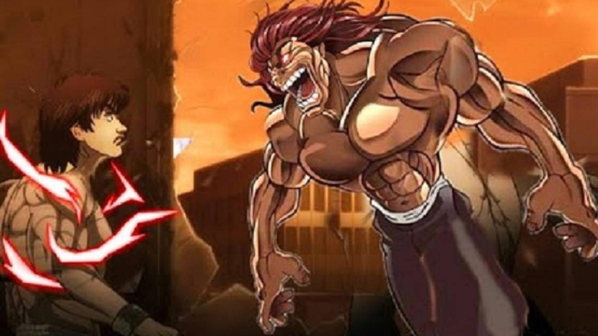 【刃牙2】真男人之间的决斗,就是要拳拳到肉,来一场硬碰硬的较量!