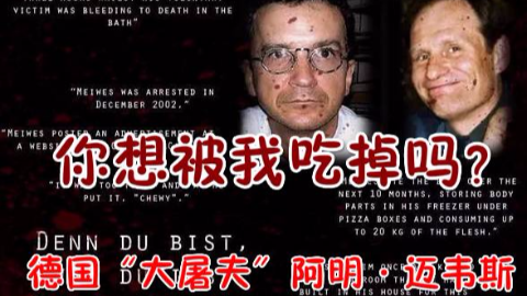 """【沉郁奇案】他被称为""""大屠夫""""有280人想被吃!德国食人事件真凶阿明·迈韦斯"""