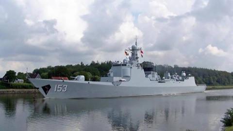 中国战舰开进欧洲运河,当地媒体羡慕:比我们军舰强大多了