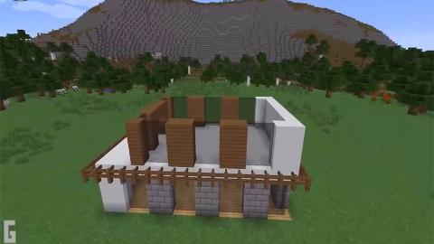 我的世界教程 上 豪华现代大别墅的基础构建