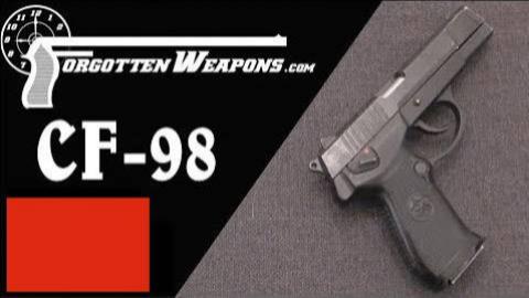 【被遗忘的武器/双语】中国CF-98模块化手枪介绍