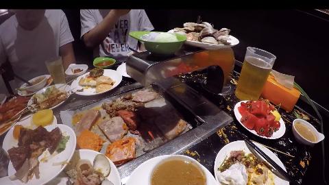 VLOG去滨州招工的前一天,58元的自助餐我们吃到怀疑人生