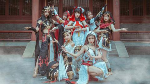 【WUCG-西区】❀剑网三明教团×云裳谣❀酷酷的仙女下凡你爱上了嘛~