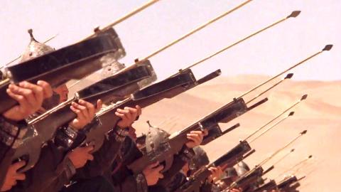 【朽木】30年前的日本竟然拍出了中国最好的古装片,完美还原古代战争场景《敦煌》