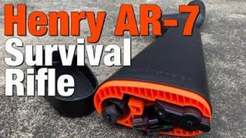 亨利AR-7生存步枪