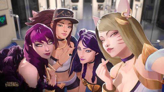 你们最喜欢的KDA女团系列来了!