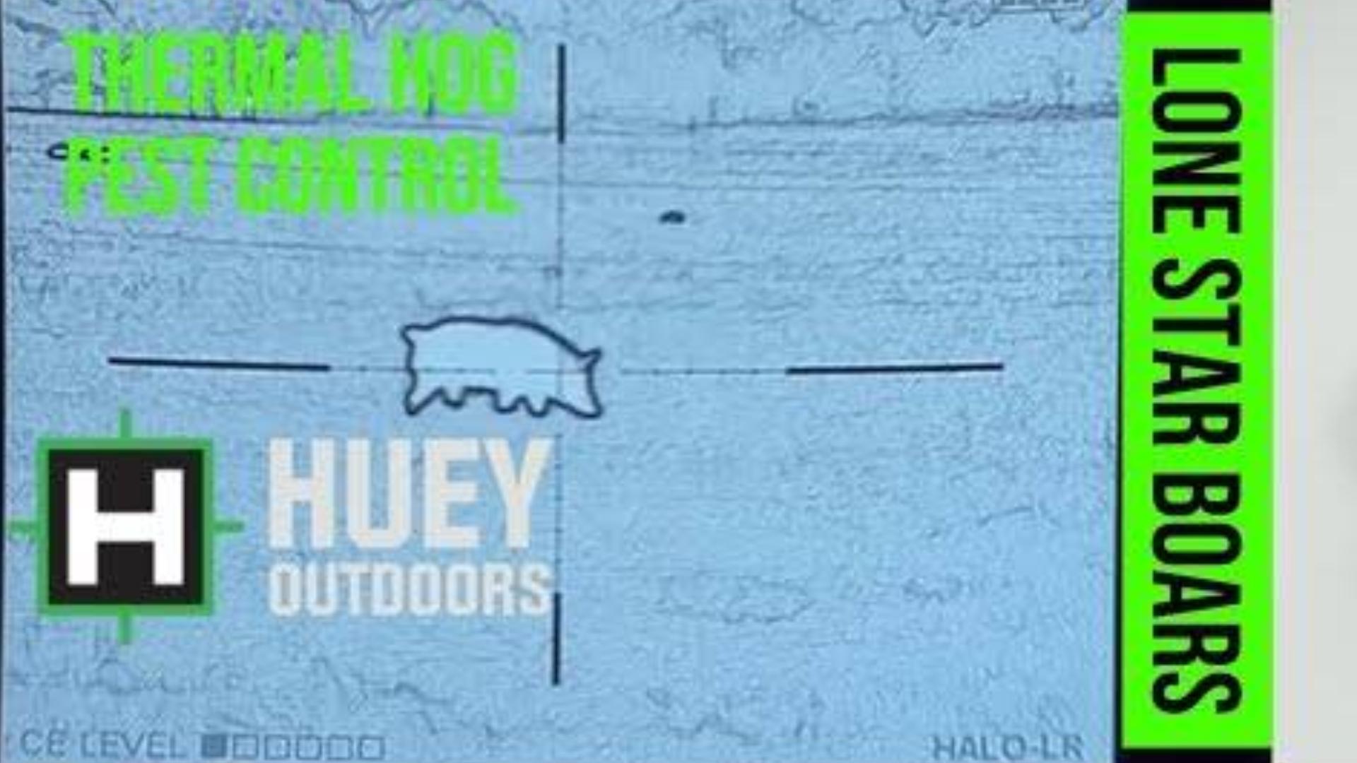 夜视镜下看德州猎人猎杀野猪记录