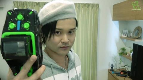 日本骨灰级特摄迷PAPATON模仿变身部分假面骑士(Youtube搬运)