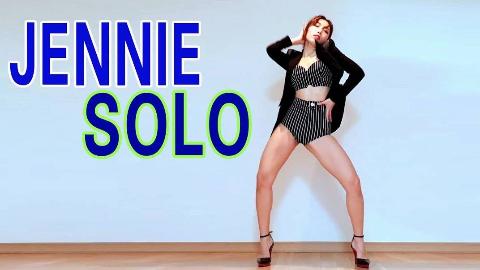 韩国性感女子组合WAVEYA翻跳JENNIE - SOLO
